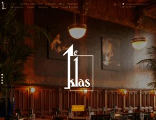 restaurant1eklas.nl screenshot