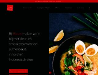restaurantblauw.nl screenshot