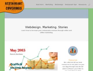 restaurantcoverings.com screenshot
