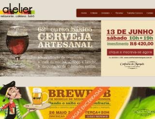 restauranteatelier.com.br screenshot