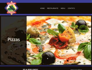 restaurantecacador.com.br screenshot