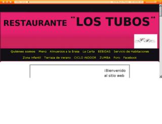 restaurantelostubos.com screenshot