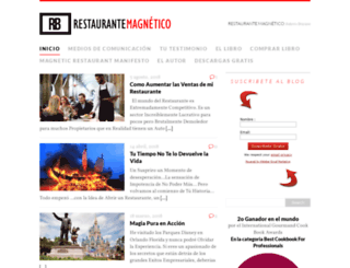 restaurantemagnetico.com screenshot