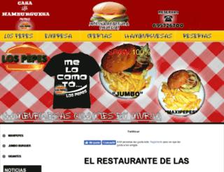 restaurantemurcia.es screenshot