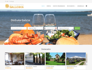 restaurantesgallegos.com screenshot