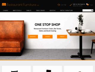 restaurantfurniture.net screenshot