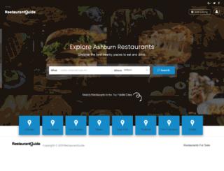 restaurantguide.com screenshot