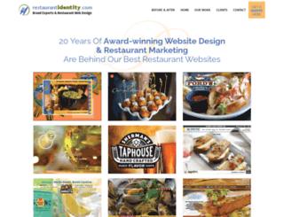 restaurantidentity.com screenshot