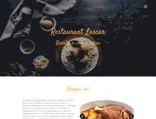 restaurantlascar.ro screenshot