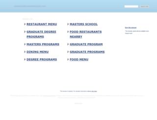 restaurantmasterseminar.com screenshot
