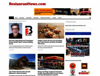 restaurantnews.com screenshot