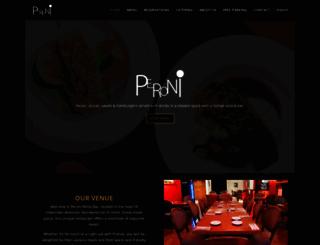 restaurantperoni.com screenshot