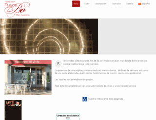 restaurantpledebo.com screenshot