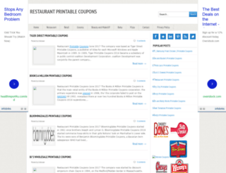 restaurantpromo.blogspot.com screenshot