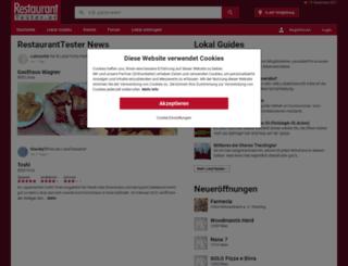restauranttester.at screenshot
