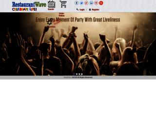 restaurantwave.com screenshot