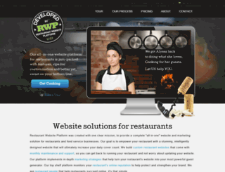 restaurantwebsiteplatform.com screenshot