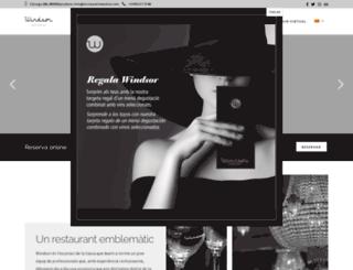 restaurantwindsor.com screenshot