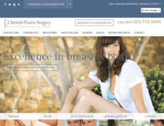 restifoplasticsurgery.calls.net screenshot