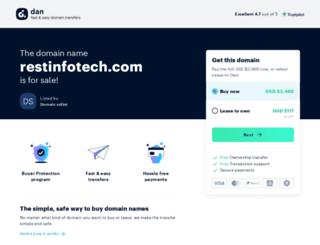 restinfotech.com screenshot