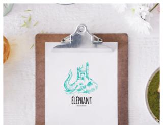 resto-elephant.com screenshot