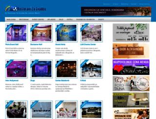 restoranizasvadbe.com screenshot