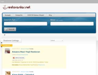 restoranlar.net screenshot