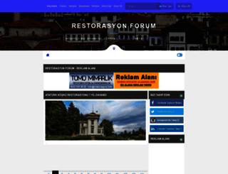 restorasyonforum.com screenshot