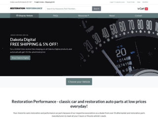restorationperformance.com screenshot