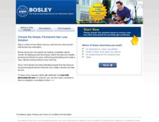 restored.bosley.com screenshot