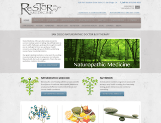 restormedicine.com screenshot