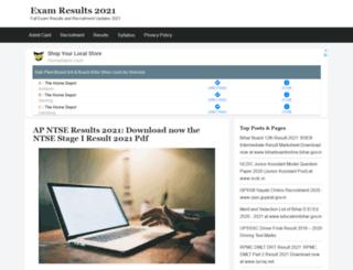 result-nic.co.in screenshot