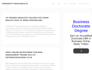 result-org.in screenshot