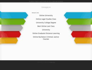 result.unirajac.in screenshot