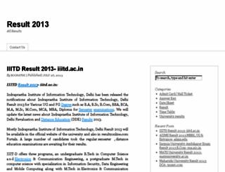 result2013.com screenshot