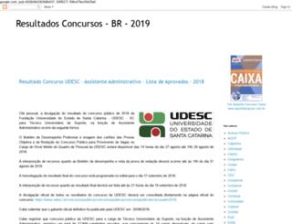 resultado-concurso-br.org screenshot