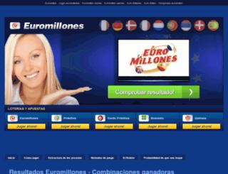 resultado-euromillones.net screenshot
