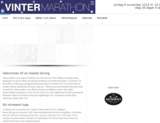 resultat.marathon.se screenshot