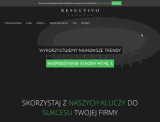 resultivo.pl screenshot