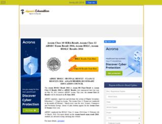 results.assameducation.net screenshot