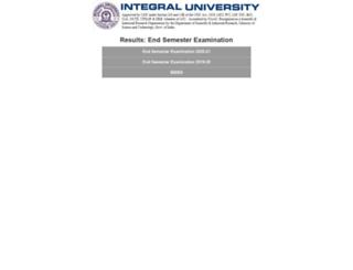 results.iul.ac.in screenshot