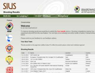 results.sius.com screenshot