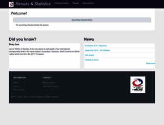 results.worldcurling.org screenshot