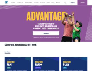 resultsmanager.lta.org.uk screenshot