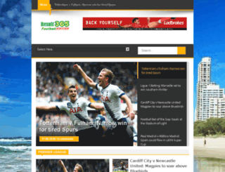 resultsoccer365.blogspot.com.au screenshot