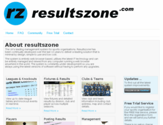 resultszone.com screenshot