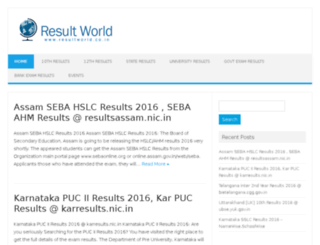 resultworld.co.in screenshot