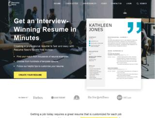 resume-now.com screenshot
