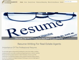 resume-writing-experts.com screenshot