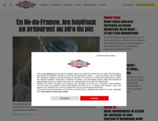 resume.liberation.fr screenshot